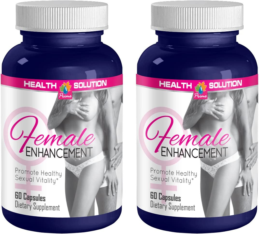 Sexual Enhancement Pills – Female Enhancement 1560MG – Promote Healthy Sexual Vitality – Horny Goat Weed Bulk – 2 Bottles 120 Capsules