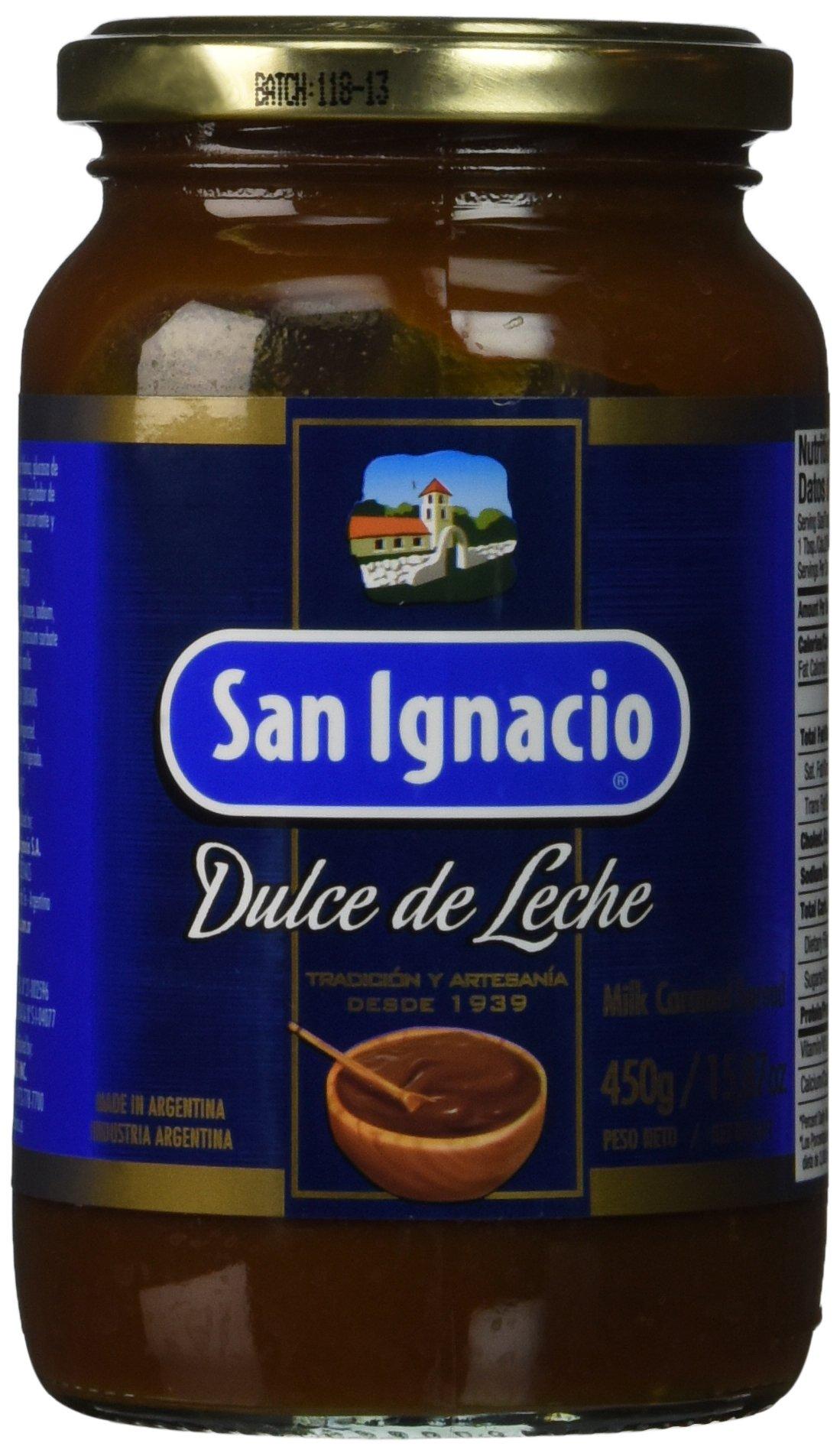 Amazon.com : San Ignacio dulce de leche Milk Caramel Spread, 15.87 ounce : Gourmet Food : Grocery & Gourmet Food