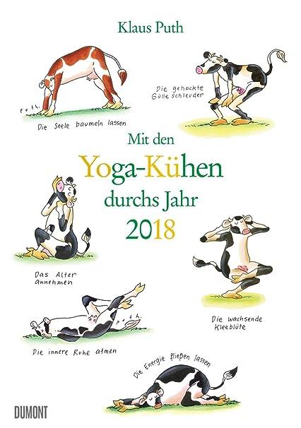con el calendario de yoga vaquitas por año - 2018 - Dumont ...