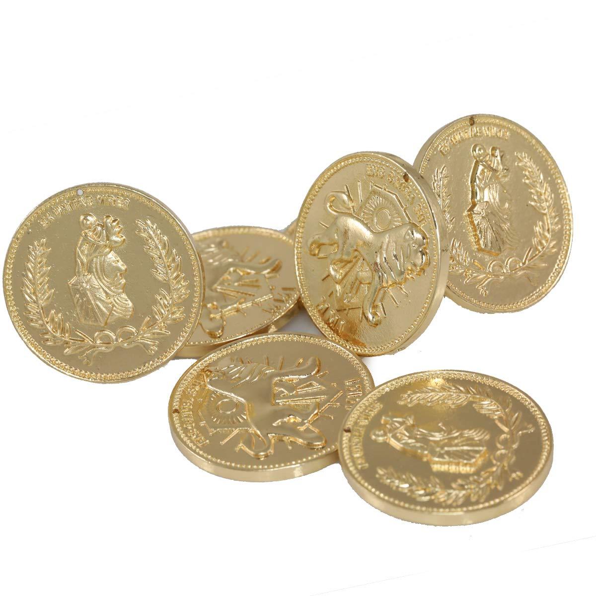 Nexthops Coin Jogn Docht Cosplay in Legierung Zinkfarbe Gold f/ür Sammlung Klassisches Zubeh/ör Film Kost/üm Requisite Geschenk f/ür Unisex Erwachsene Fans