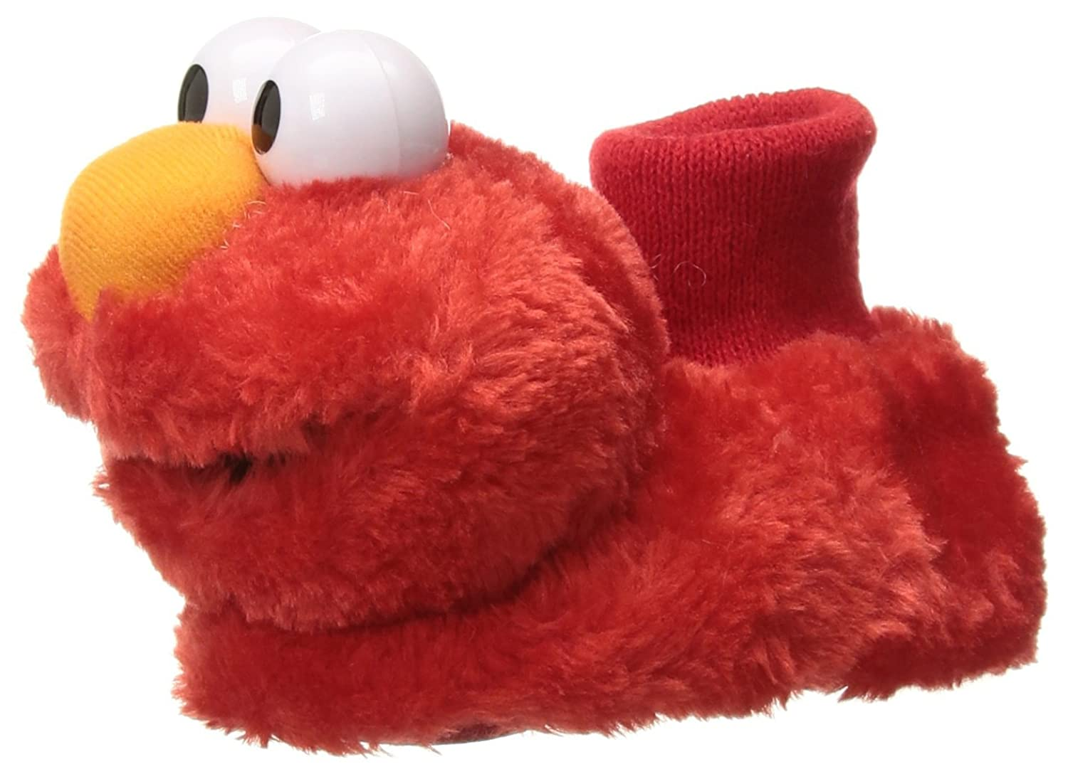 Sesame Street Kids' Tickle Me Elmo Giggle Sound Slipper