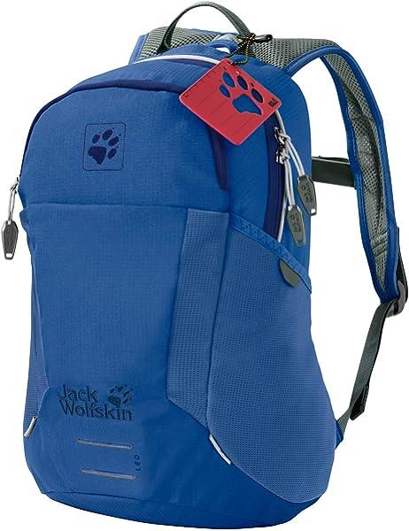Jack Wolfskin Moab Jam Kids Junior Rucksack Backpack Bag Dark Ruby One Size