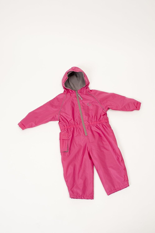 Fiesta Red 4-5yrs Hippychick Fleece Lined Waterproof All in One Suit