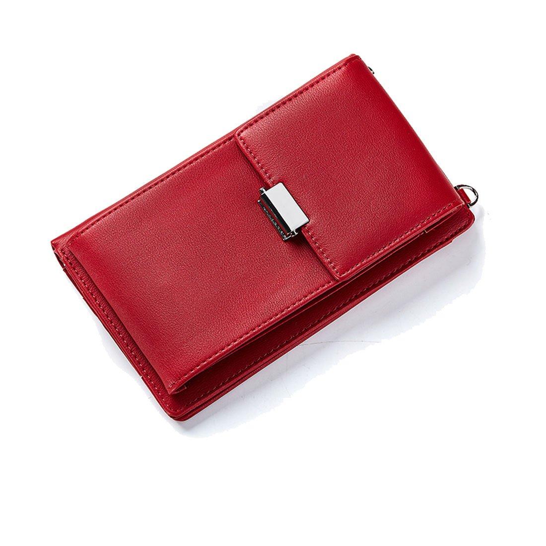 Longwu Wallet01-G-PL-304-17-EU, cover a portafoglio Donna Nero (186-black) Taglia unica Wallet01-PL-186-17-Black-EU