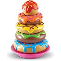 Learning Resources LER7352 Smart Snacks Stack 'em Up Doughnuts 7 Pieces