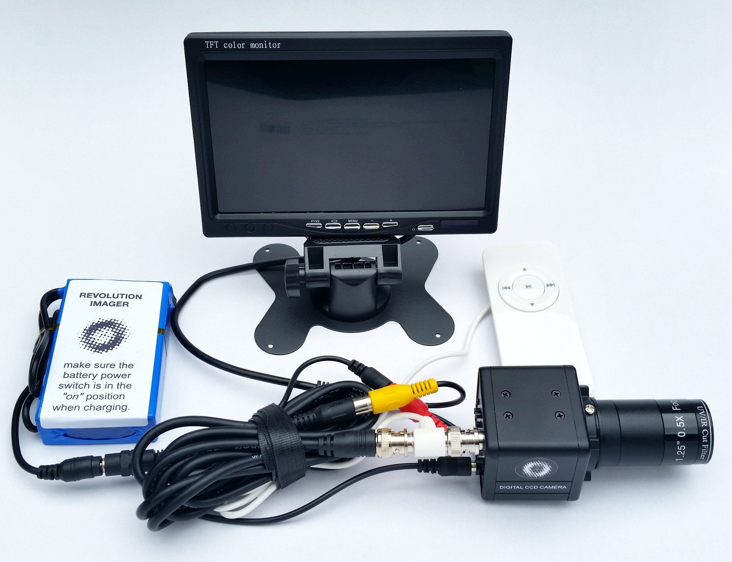 Revolution Imager 1.25 inches Live View CCD Video Astronomy Camera System