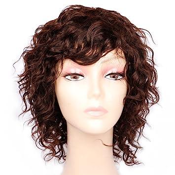 Amazon.com: Jilguero Cabello humano pelucas para mujeres ...