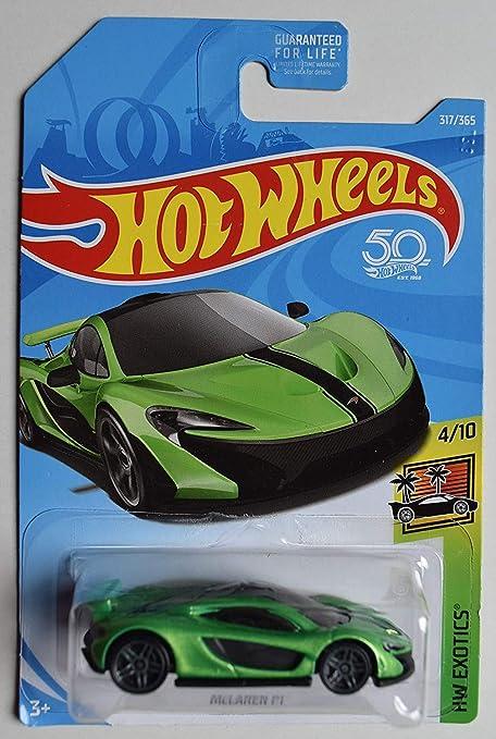 Amazon.com: Hot Wheels 2018 Hw Exotics 4/10 - McLaren P1 ...
