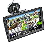 """OHREX 7"""" GPS Navegación para coche con España y Completo UE Mapas descargar,Windows CE 6.0 8GB Gratis Toda la vida Mapa Actualizaciones Y Gratis Protector Caso"""