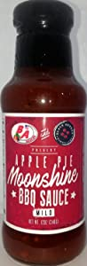 APPLE PIE MOONSHINE BBQ SAUCE - New Orleans Style - 12 oz