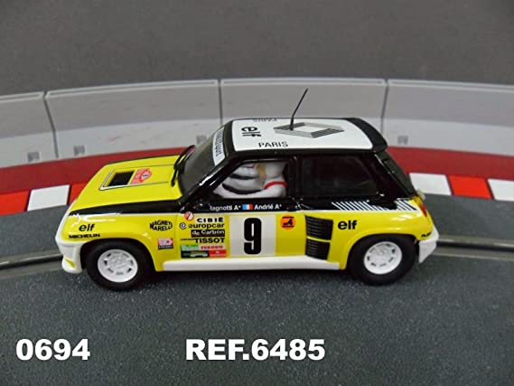Scalextric Original - Coches - Renault 5 Turbo Ragnotti (Ref. 6485): Amazon.es: Juguetes y juegos