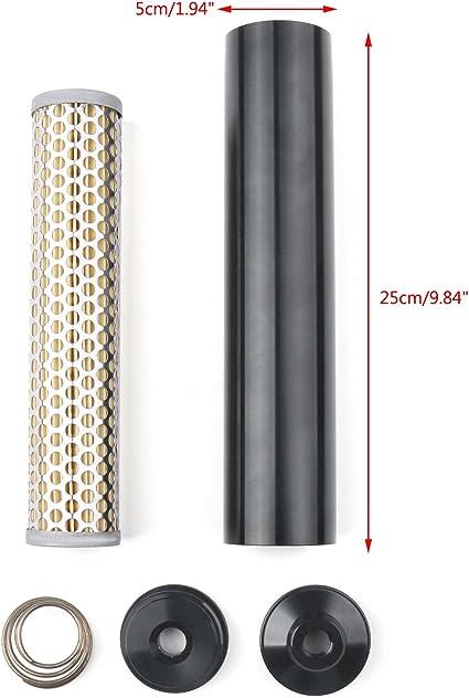 Areyourshop Napa 4003 Wix 24003 Kraftstofffilter Aus Billet Aluminium Niedriges Profil 1 2 28 Auto