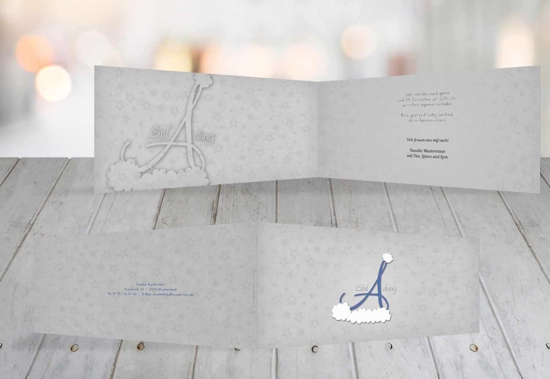 Kartenparadies Einladungskarte Einladungskarte Einladungskarte zu Weihnachten Einladung A_Mütze, hochwertige Weihnachtseinladung zum Selbstgestalten (Format  215x105 mm) Farbe  MattBlau B01N51OH7P | In hohem Grade geschätzt und weit vertrautes herein und heraus  | Innovation  | R 3503b9