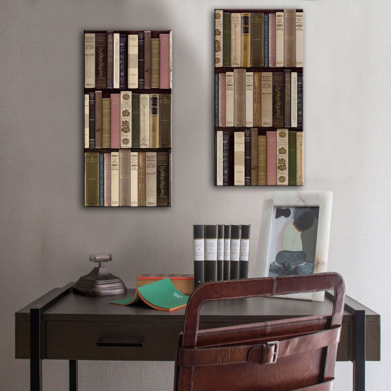 GaoRuiRuiL Bücherschrank Dekorative Malerei, rahmenlose Gemälde, Wohnzimmer Gang Dekorative Malerei, 40  80  2 B07H94JDKV  | Neues Design