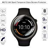 motorola 360 sport. moto 360 sport screen protector - fiimi tempered glass protectors for motorola