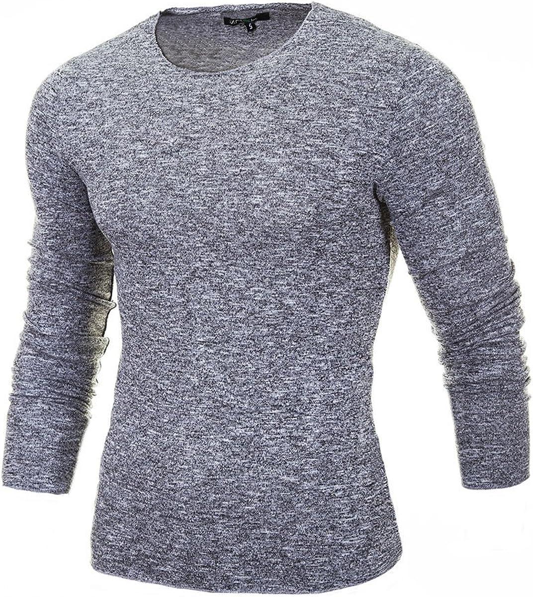 MERISH Jerséis para Hombre Cuello Redondo diseño Muy Bonito Slim Fit Conveniente para Todas Las Ocasiones, Modell 306