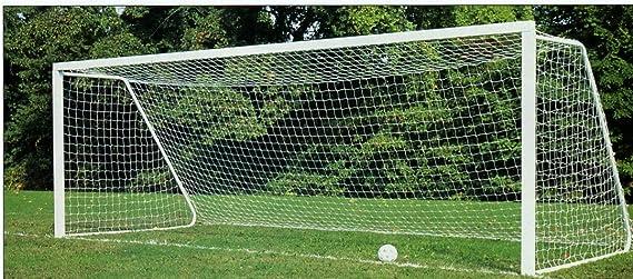 Alomejor Goal Net Football Soccer Goal Net Replacement Full Size Football Soccer Net for Sports Match Training