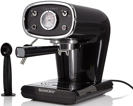 Silvercrest® Cafetera expreso semr 850 A1 negro: Amazon.es ...