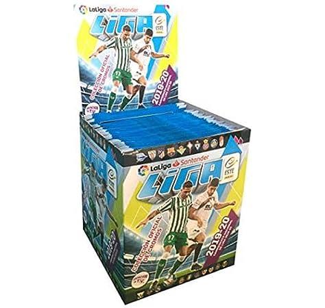 Caja de 50 sobres de la (4ª) cuarta edición Precintada Con 300 cromos: Amazon.es: Juguetes y juegos