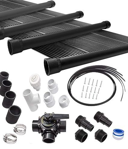 Amazon.com: SunQuest - Calefactor solar para piscina con kit ...