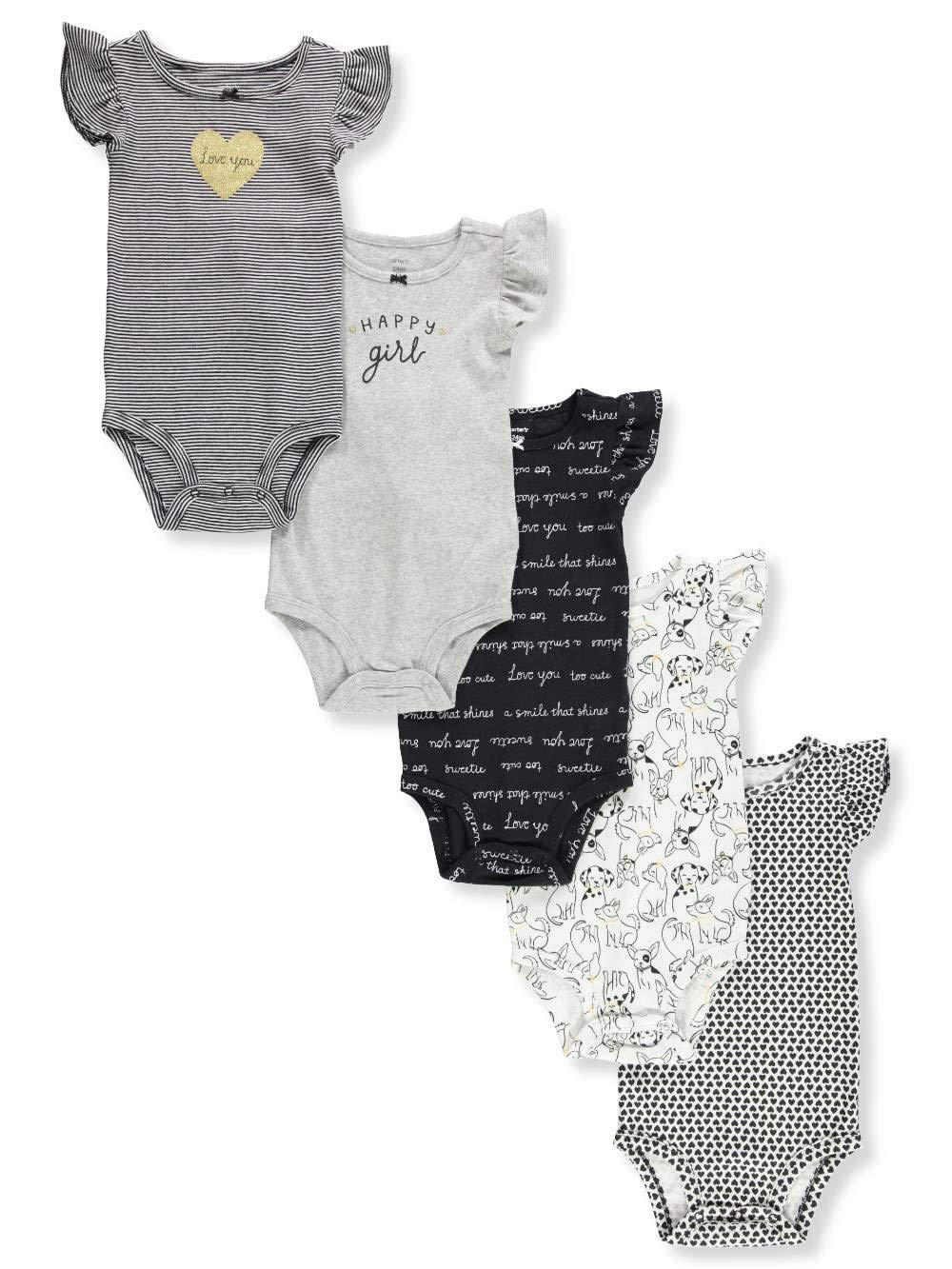 【楽ギフ_のし宛書】 Carter's 12 SHIRT カラー: ベビーガールズ US サイズ: Newborn カラー: ホワイト Newborn B07KKMNRJM ブラック/ホワイト 12 Months 12 Months|ブラック/ホワイト, ギャラリーメイスン:d71b8091 --- arianechie.dominiotemporario.com