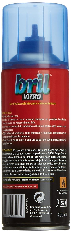Bril vitro gel desincrust.spray 400: Amazon.es: Alimentación ...