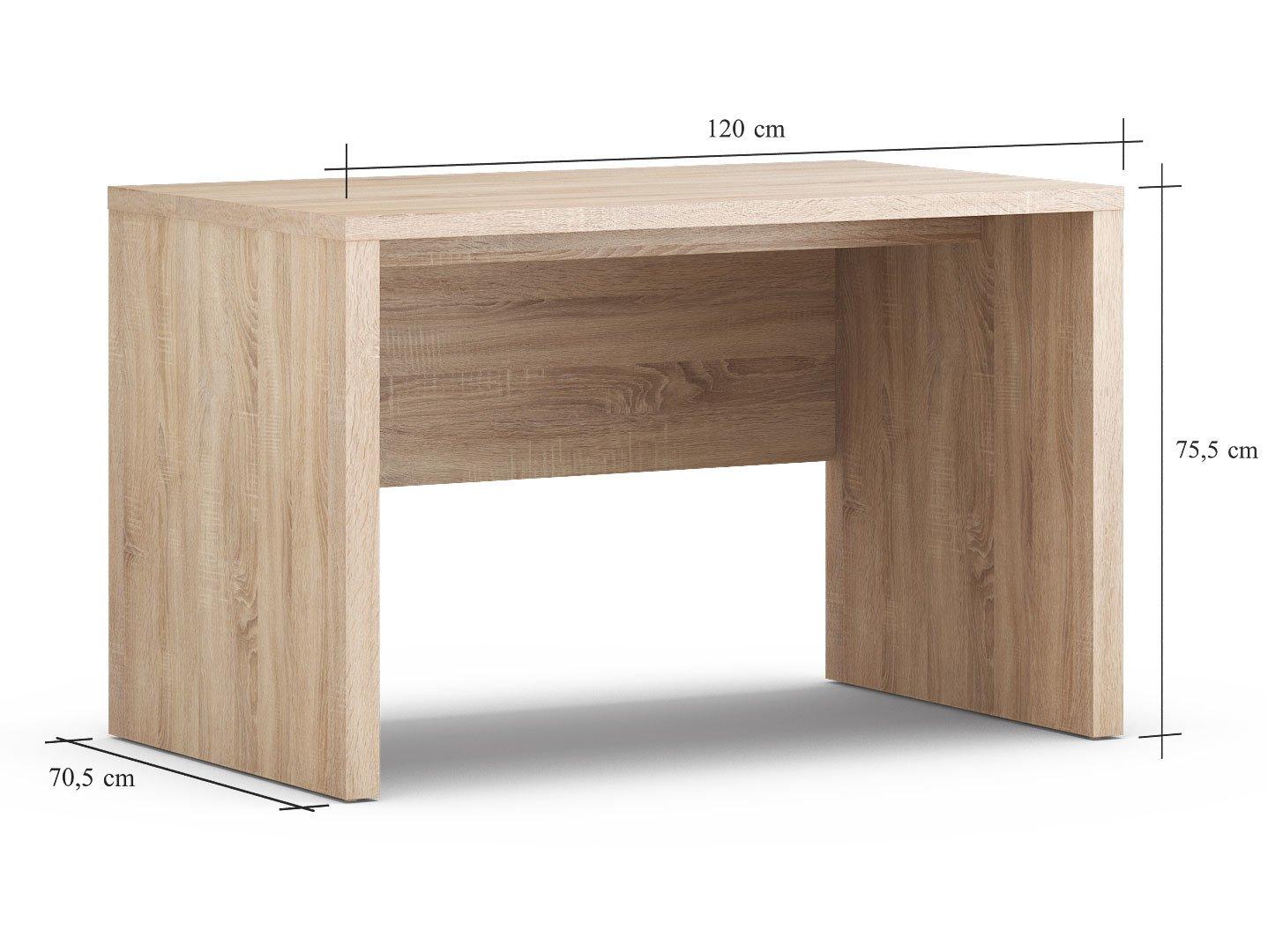 oak office table. Simple Office Black Red White VENOM MIX  120cm Wide Quality Desk Bright Oak Pattern In Office Table