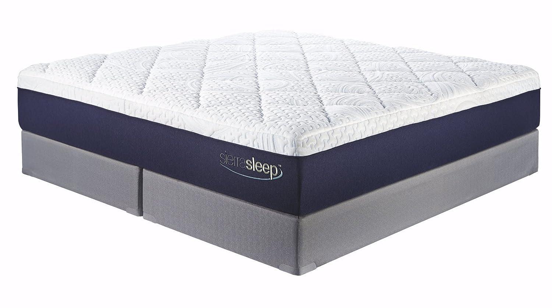 Amazon.com: Ashley Furniture Signature Design - Sierra Sleep - Memory Foam  Gel Mattress - 13 in Thick - King Size - White: Kitchen & Dining