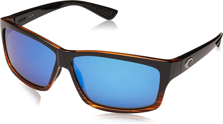 Costa Del Mar mens Cut Rectangular Sunglasses