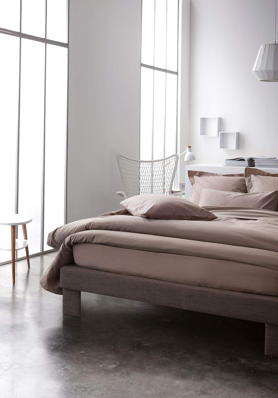 140 x 190 TODAY Lenzuolo con Angoli Elasticizzati 140 x 190 cm in Jersey di Cotone Jus de Myrtille Colore Fuchsia