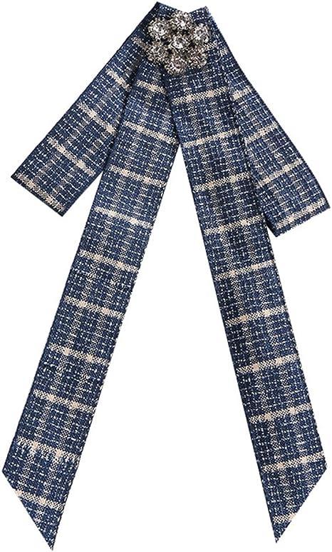 Fascigirl Mujer Pajarita, Broche de Corbata Camisa Elegante de La Corbata de La Tela Escocesa: Amazon.es: Deportes y aire libre