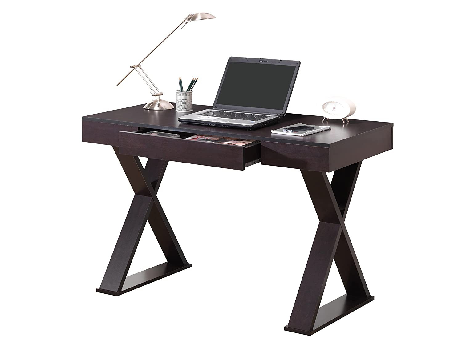 Amazon Com Techni Mobili Trendy Writing Desk With Drawer