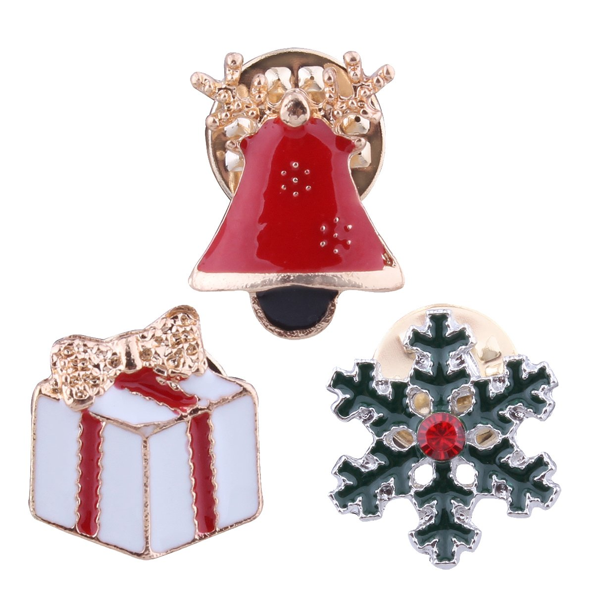 Solememo Christmas Brooch Gift Boxes Bells) Yiwu Yulin SDXZ