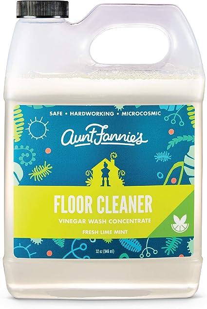 Amazon.com : Aunt Fannies Vinegar Wash Floor Cleaner Lime Mint, 32 ...