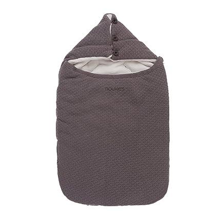 Noukies BB14008, 18 asiento de coche saco de dormir Tricoloudoux, colour gris oscuro