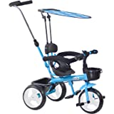 Boppi 4-in-1 Blue Trike Tricycle for kids