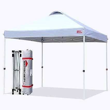 MasterCanopy Canopy Bolsa de peso de agua peso para patas para toldo plegable paquete de 4 unidades color gris