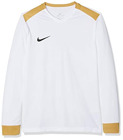 359d75c9 Large, white/jersey gold/Black) - Nike Children's Kids Dry Park ...