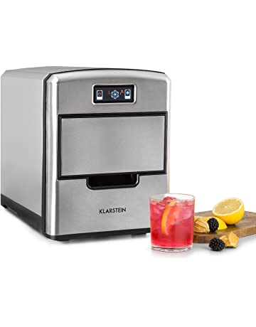 Klarstein Metropolitan • Máquina de hielo • Cubitera automática • Sistema circulante • 12kg/24h