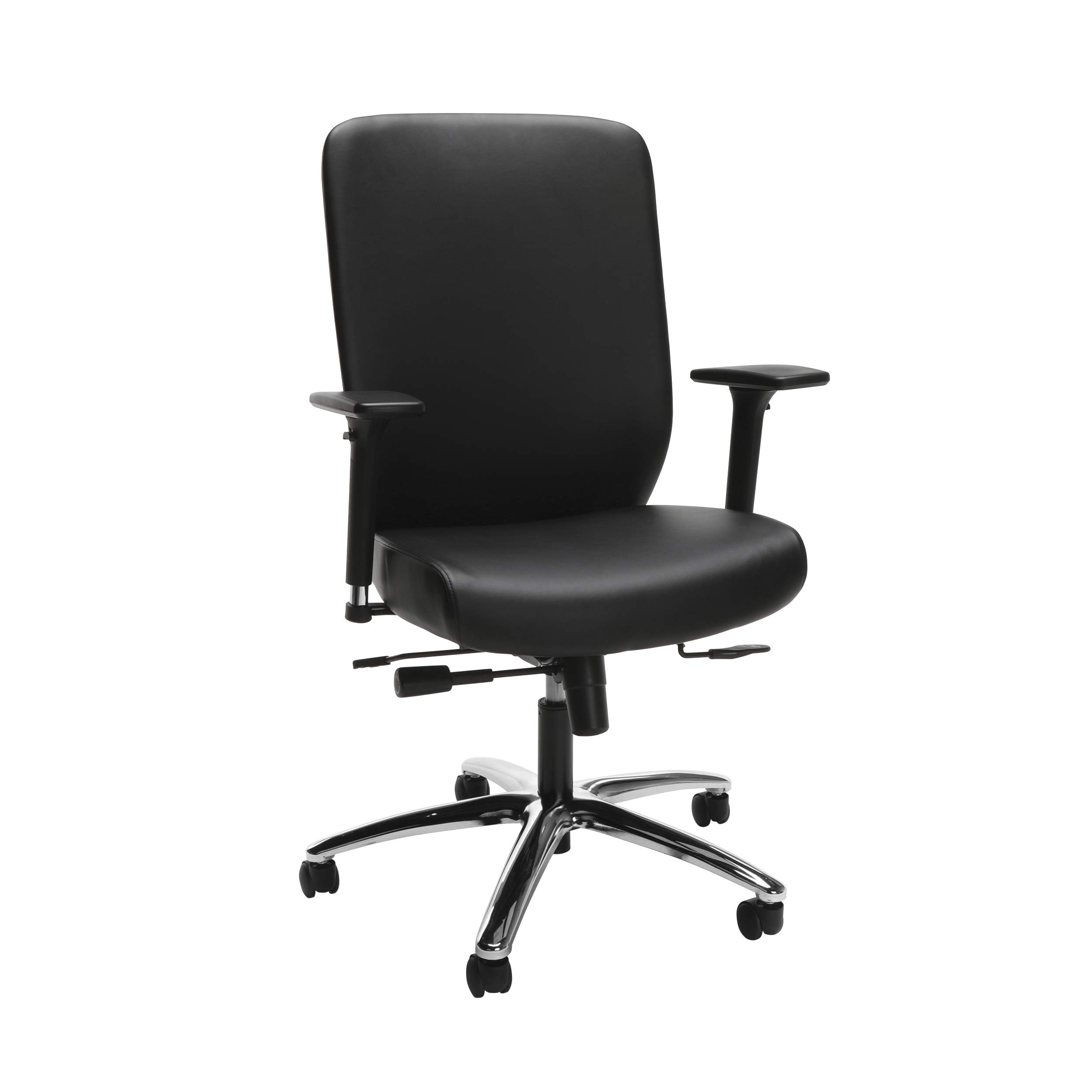 HON HONVL722SB11 High-Back Executive Chair with Synchro-Tilt Control, in Black (HVL722), Upholstered by HON