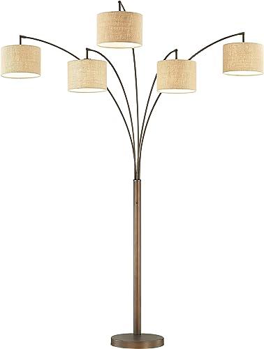 Artiva USA LED602805FBZ 83″ LED Arched Floor Lamp