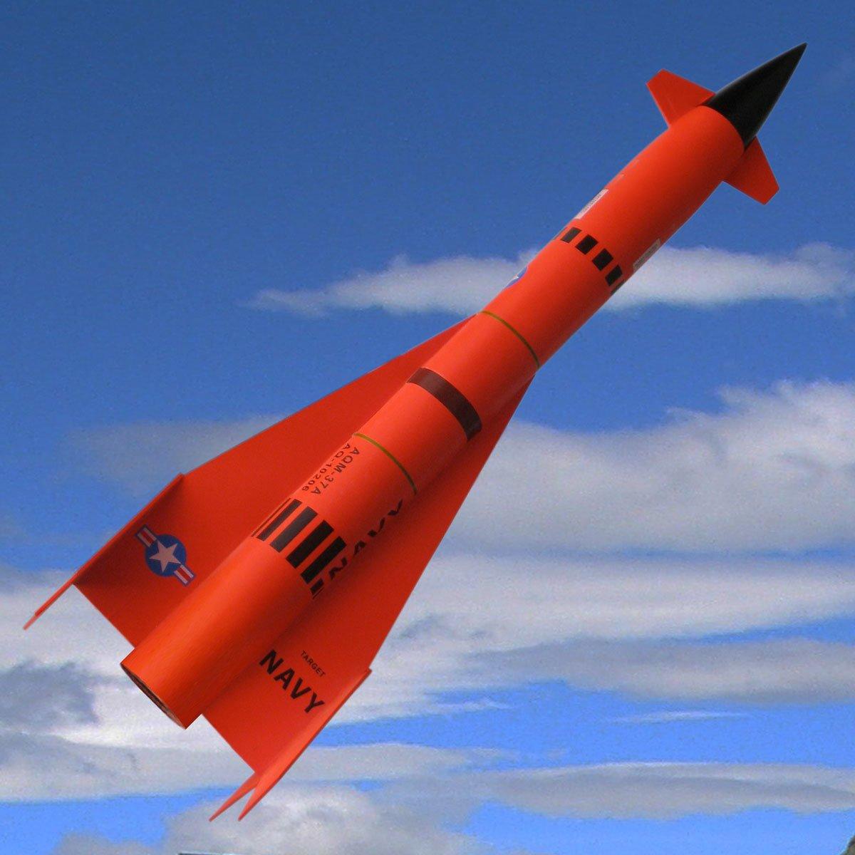 Madcow Rocketry 1.6'' Mini Jay Hawk AQM-37A Rocket Kit