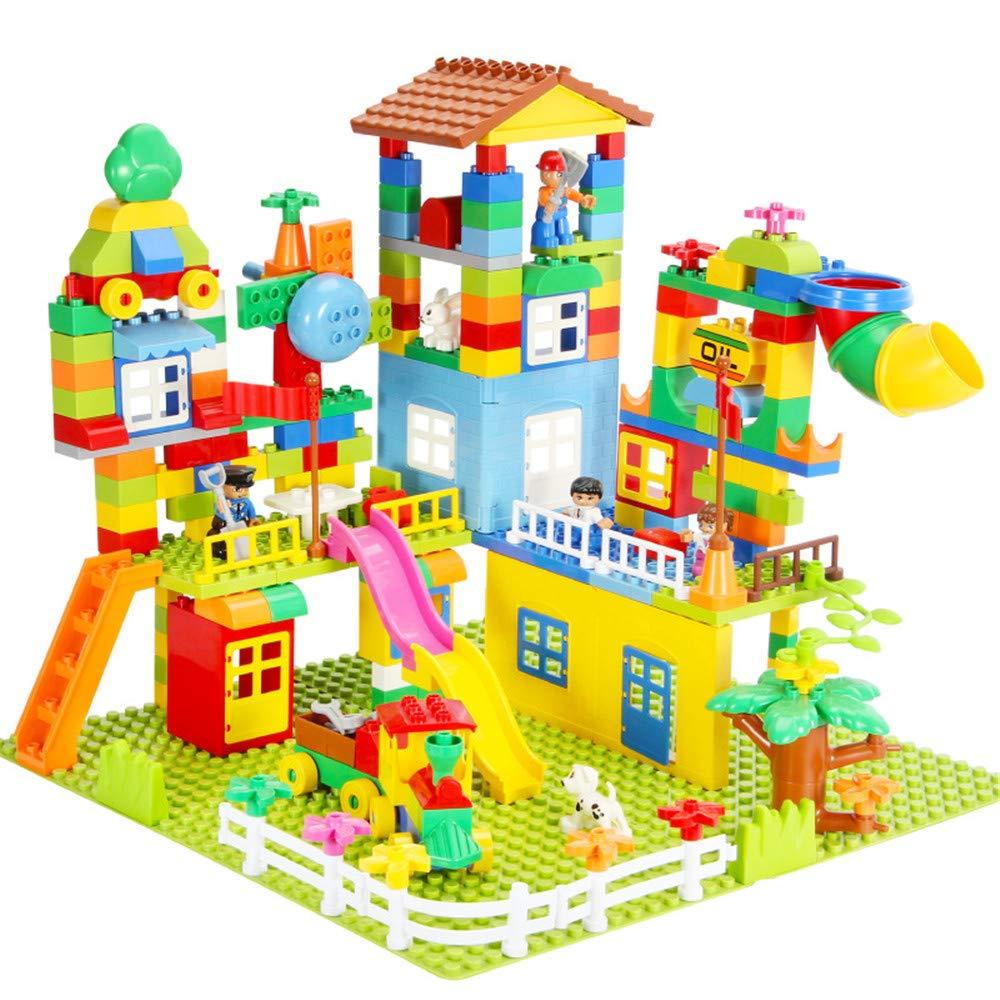 ChenYongPing Giocattoli interattivi per Bambini 238PCS Blocks Brain Game Toys for Girl Boys 3-4-5-6 Anni Giocattoli per abilità motorie