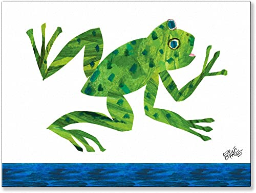 Oopsy Daisy Eric Carle's Frog Canvas Wall Art
