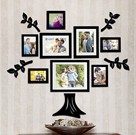 Amazoncom Art Street Family Tree Set Of 8 Individual Wall Picture