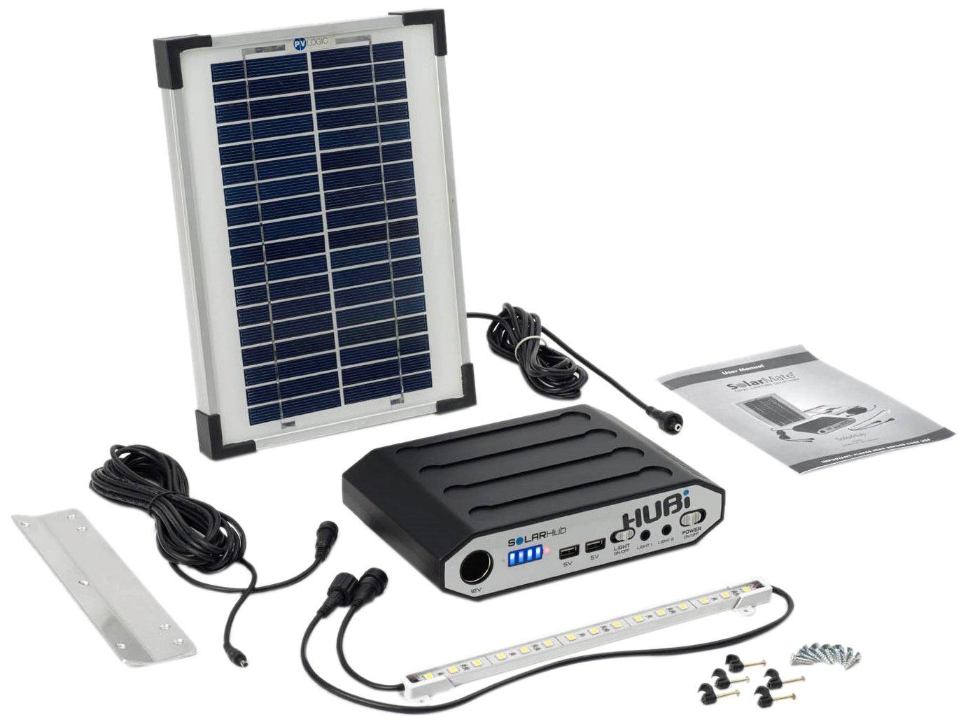 SolarMate Smh001 hub 16 d'é clairage Solaire et kit de Puissance –  Bleu Solar Technology International Limited