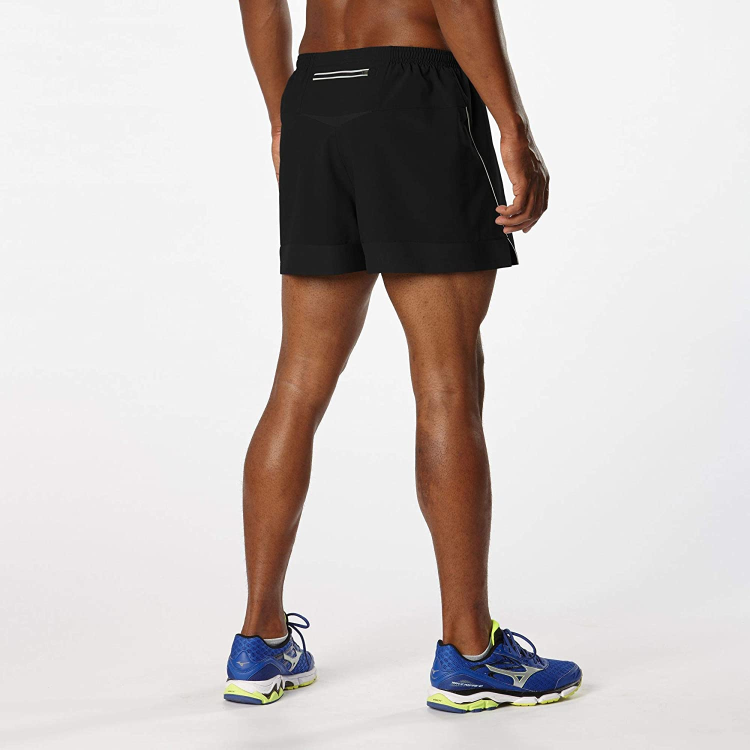 R-Gear Mens Mile Master 3-inch Split Shorts with Pockets Liner and DRYROAD Fabric