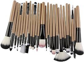 Luxsea 25 pcs Makeup Brushes Beauty Tools Set Blush Foundation Eyebrow EyeLash Lip Face Make Up