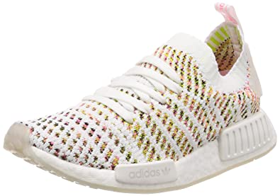 best sneakers 0287b 3ce6d Amazon.com | adidas Women's NMD_R1 STLT PK W, Cloud White ...