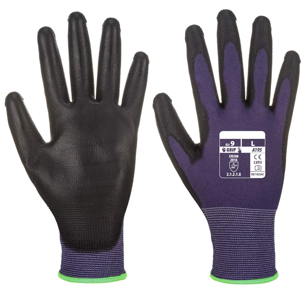 Workwear World WW519 - Guantes de seguridad con revestimiento de ...